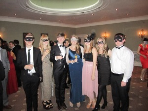 End of year masquerade