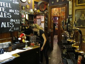 The pub I worked in (and Lisa)