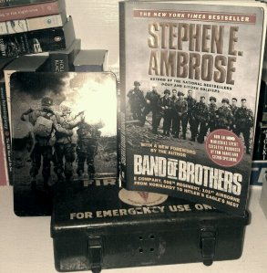 Band of Brothers dvd collection and book